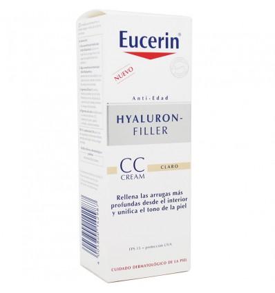 Eucerin Hyaluron Filler Crème CC Fps15 Clair 50 ml