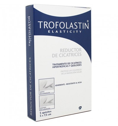 Trofolastin Reductor Cicatrices 5x7.5 5 Parches