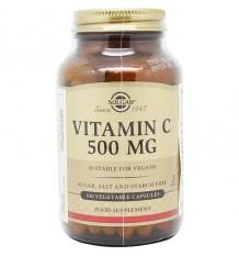 Solgar Vitamin C 500 mg 100 Capsules