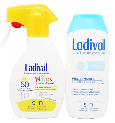 Ladival Niños 50 Spray 200 ml+After Sun 200 ml