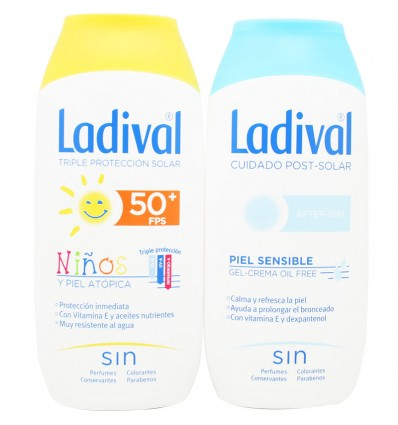 Ladival Niños 50 Crema 200 ml+ After Sun 200 ml