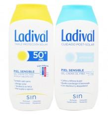 Ladival 50 Sahne 200 ml Geschenk+After Sun, 200 ml