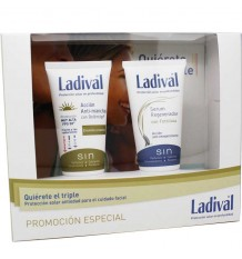 Ladival Antimanchas Spf50 50ml+Serum Regenerador 50ml