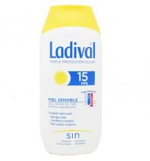 Ladival 15 Sensibles de la Peau Gel-Crème sans Huile 200 ml