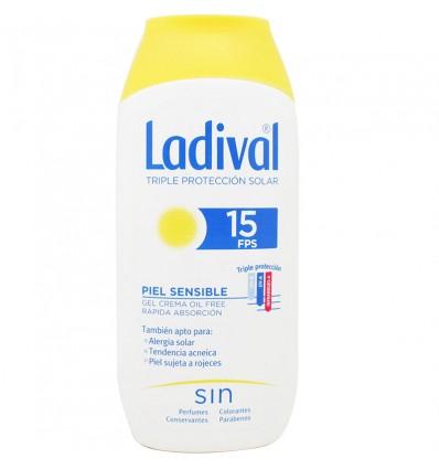 Ladival 15 Piel Sensible Gel Crema Oil Free 200 ml