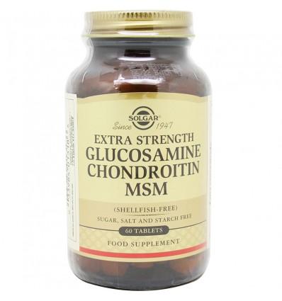 Solgar Glucosamina Condroitina Msm 60 Compimidos