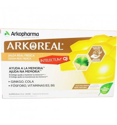Arkoreal Gelée Royale Intelectum 20 Ampoules