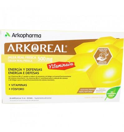 Arkoreal 500 mg Bastard 20 Blisters