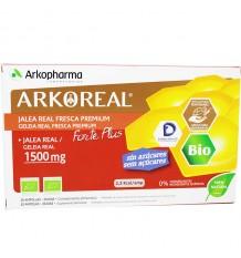 Arkoreal de Gelée Royale, Forte de Plus de 1500 mg-20 ampoules