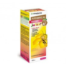 Arkoreal Syrup Protect the Strawberry Flavour 150 ml