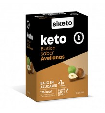 Siketo Shake Taste Of Hazelnuts To 5 Envelopes