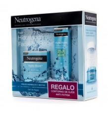 Neutrogena Hydro Boost Gel 50ml Wasser Contono Augen 15ml