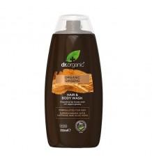 Dr Organic Shower Gel Body and Hair Ginseng 250ml