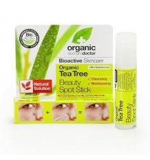 Dr Organic Barra para Acne Arbol de Te 8ml
