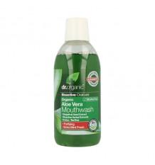 Dr Organic Enjuague Bucal Aloe Vera 500 ml