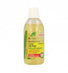 Dr Organic Enjuague Bucal Arbol del Te 500ml