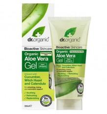 Dr Organic Gel Aloe Vera Pepino Olmo Escoces Calendula 200 ml
