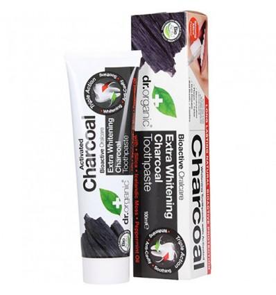 Dr Organic Pasta Dental Carbon Activado 100ml