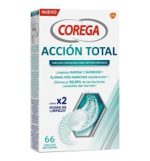 Corega Accion Total 66 Effervescent Tablets