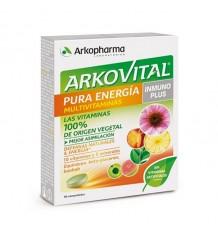 Arkovital Pura Energia Inmuno Plus 30 Comprimidos