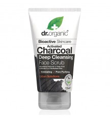 Dr Organic Exfoliante Facial Carbon Activo 125 ml
