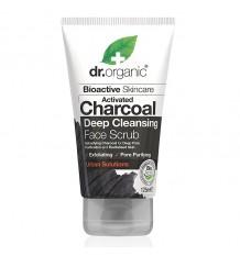 Dr Organic Exfoliating Facial activated Carbon 125 ml