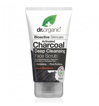 Dr Organic Exfoliante Facial Carbon Activo 125 ml