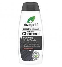 Dr Organic Shower Gel Bath Activated Carbon 250 ml