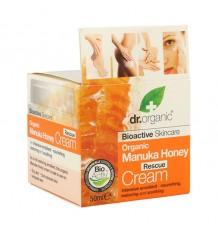 Dr Organic Crema Rescate Miel Manuka 50 ml