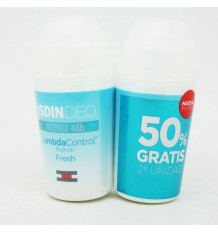 Lambda Control Desodorante Roll On Fresh 50ml+50ml Duplo