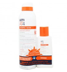 Leti At4 Défense Spray Spf50 200 ml gel de cadeau