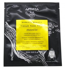 Apivita Express Beauty Sheet Mask Mastic Firming Lifting Effect 15ml