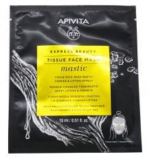 Apivita Express Beauty Sheet Mask Mastic Reafirmante Efecto Lifting 15ml