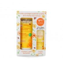Weleda Calendula-Pack Shampoo 200ml+ Cream Windel 30ml