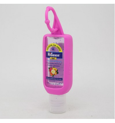 Higeen Gel Limpieza de Manos Rosa Damasco 50ml