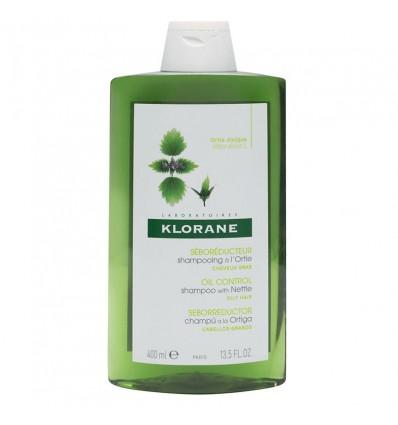 Shampoo Klorane Urtiga Seborregulador 400 ml