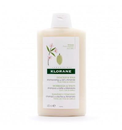 Klorane Xampu Leite de Amêndoas 400 ml