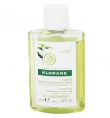 Klorane Shampooing à la pomme à Cidre Purification de 25 ml Taille Mini