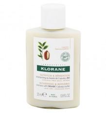 Klorane Xampu Cupuaçu Nutrição Reparação 25ml Tamanho Mini