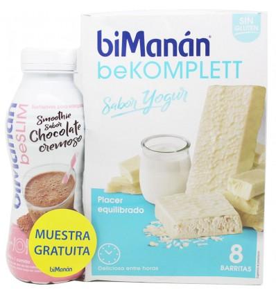 Bimanan Bekomplett Yogur 8 unidades + Smoothie Chocolate 330ml