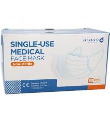 Mascarilla Quirurgica Adulto Triple Capa Caja 50 Unidades Tipo 1