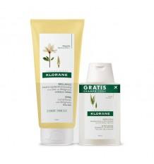 Klorane Balsam Magnolie 200 ml + Shampoo Haferflocken 100ml
