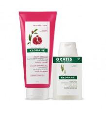 Klorane Balm Pomegranate 200ml + Shampoo Oatmeal 100ml