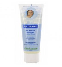 Klorane Baby Gel Soft Foam Body and Hair 200ml