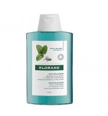 Klorane Shampoo Anti-Poluição Menta Aquática 400ml