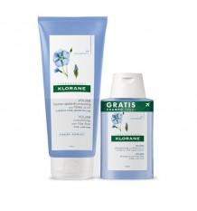 Klorane Bálsamo Linho 200ml + Shampoo 100ml