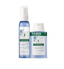 Klorane Spray de Linho 125ml + Shampoo 100ml