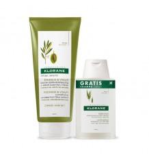 Klorane Balsam Olivenöl 200 ml + Shampoo Haferflocken 100ml