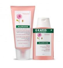 Klorane Gel Peônia 150ml + Shampoo 100ml