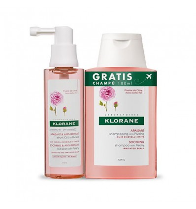 Klorane Spray Peonía 65ml + Champú 100ml